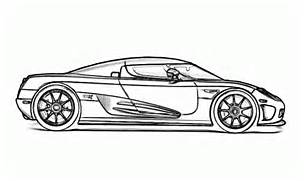 Car Coloring Pages Bugatti Page Free