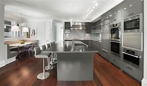 44 best ideas of modern kitchen cabinets for 2018 for Kitchen cabinet trends 2018 combined with large glass wall art