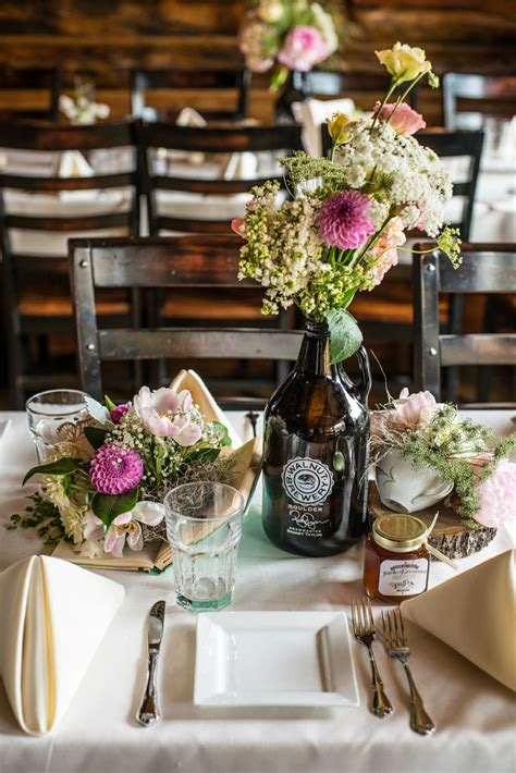 1000 ideas about centerpieces bottle centerpieces brewery wedding and