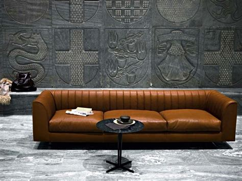 canapé cuir italien design canapé moderne 75 modèles pour un salon tendance