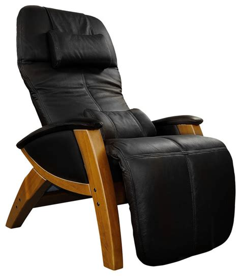 zvago leather zero gravity recliner contemporary