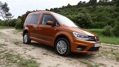 2019 Vw Caddy by 2019 Vw Caddy Combi Driving
