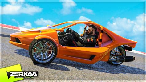 New 3 Wheel Sports Car?! (gta 5 Funny Moments)