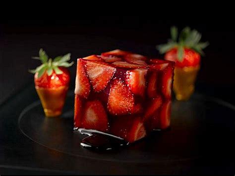 recette cuisine moleculaire fraises cubiques visions gourmandes