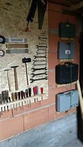 Werkzeugwand Selber Bauen : die besten 25 werkzeugwand ideen nur auf pinterest pegboard garage garagen werkbank und ~ Watch28wear.com Haus und Dekorationen
