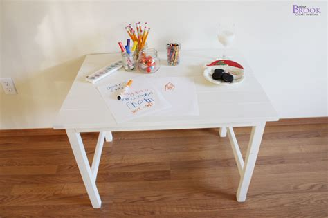 ana white kids art table diy projects