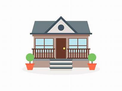 Animated Animation Moving Property Building Rental Motion