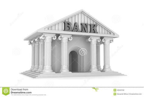 bank classic house icon stock illustration image