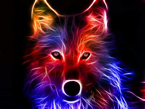 Digital Wolf Wallpaper wolf wallpaper and background image 1600x1200 id