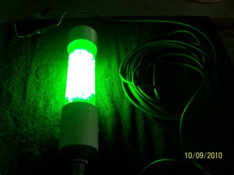 homemade underwater fishing lights diy fishing lights shrimp light build submersible light