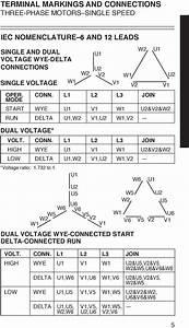 12 Lead Motor Wiring