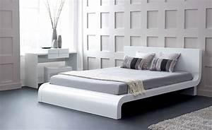 Modern Platform Bed Frames and Style - Traba Homes