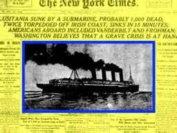 Why Did Germany Sink The Lusitania by World War I Lusitania Sunk