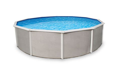 Belize Steel Above Ground Pool 12 X 24 Oval 48