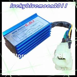 New 6 Pins Race Cdi Box Ac Ignition For Honda Gy6 Scooter