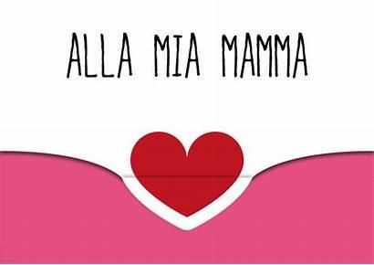 Mamma Cuore Auguri Biglietti Stampare Biglietto Festa