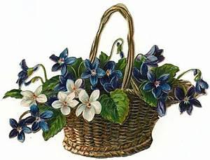 Flower Baskets Clip Art - ClipArt Best