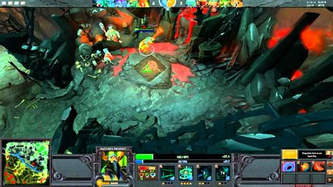dota 2 gameplay with live dual commentary 13 natures prophet youtube