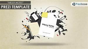 messy notes prezi template prezibase With prezi templates for teachers