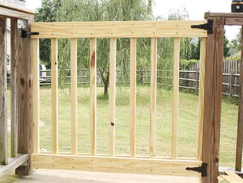 build your own deck in deck stair gate product