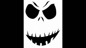 Free Printable Funny Scary Pumpkin Carving Stencils 2017