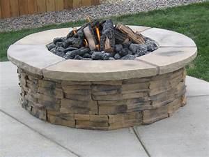 Triyae com = Backyard Stone Fire Pit Designs ~ Various