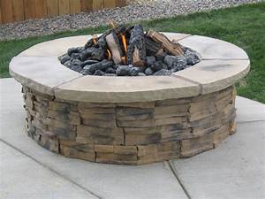 Fabulous, In, Ground, Wood, Burning, Fire, Pit, Kits