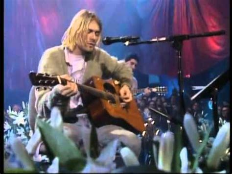 Nirvana On A Plain (unplugged In New York) Youtube