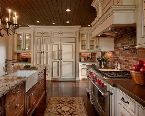 super practical   stylish brick kitchen backsplashes digsdigs
