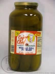 Cajun Chef Whole Dill Pickles