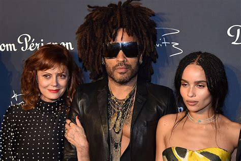 Susan Sarandon Zoe Kravitz More Attend Lenny