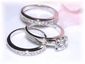 3 wedding ring sets for him and three wedding ring set the wedding specialiststhe wedding specialists