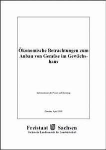 Gemüse Im Gewächshaus : konomische betrachtungen zum anbau von gem se im gew chshaus ~ Articles-book.com Haus und Dekorationen