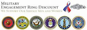 military engagement ring discounts With military discount wedding rings