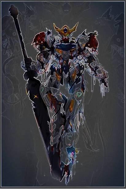 Gundam Barbatos Lupus Rex Wallpapers Wallpaperaccess Suit