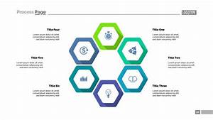 Six Hexagon Infographics  Template For Cycle Diagram