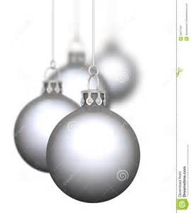silver christmas baubles royalty free stock photography image 34917567