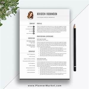 Unique Resume Template  Cv Template 2020  Simple Resume