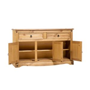 Corona Medium Sideboard by Corona Three Door Two Drawer Medium Sideboard