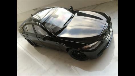 bmw   black paragon  diecast model car youtube