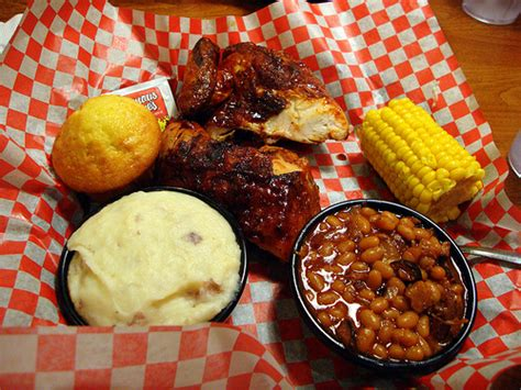 bbq dinner bbq chicken dinner at famous dave s in lake delton flickr photo sharing