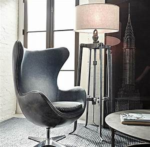 25 sleek industrial furniture finds for Jcpenney adjustable metal floor lamp by studio
