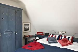 Decoration Chambre Style Marin : maison de style marin pour une d co bord de mer belle ile ~ Zukunftsfamilie.com Idées de Décoration