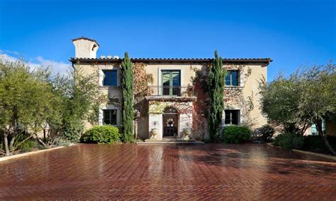 Italian Villa House Plans by Tuscan Style Villa Plans California Tuscan Style Homes