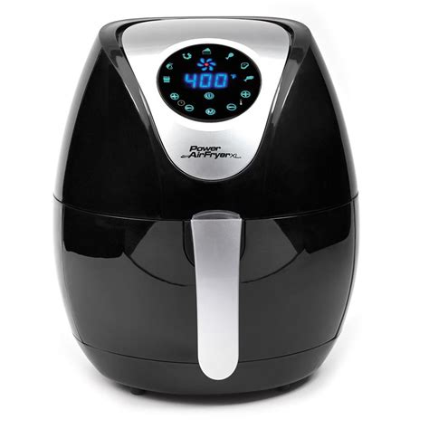 fryer air power airfryer xl qt manual pafb basket fryers load coating homedepot