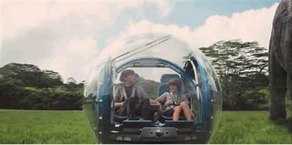 Jurassic Trailer Park Giro Giphy Ball Gyrosphere