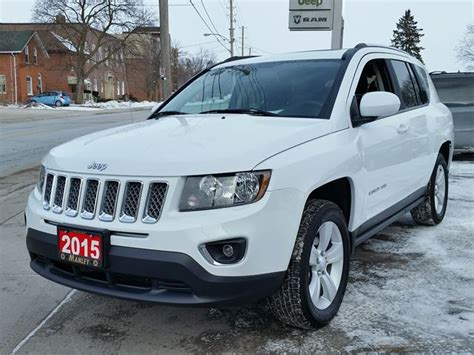 jeep compass sport 2015 2015 jeep compass high altitude white manley motors