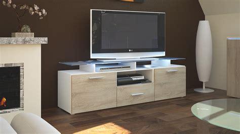 Tv Lowboard Board Schrank Tisch Möbel Almada In Weiß