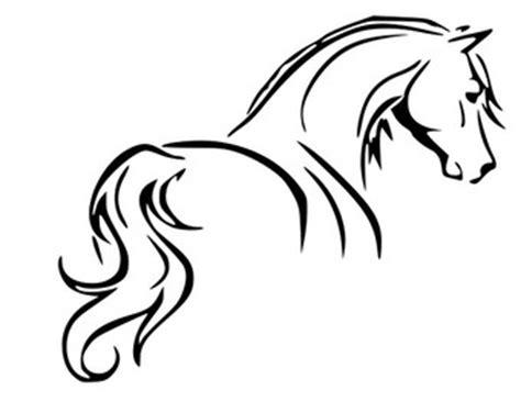 ferrari horse outline horse download etsy