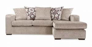 Right hand facing 4 seater pillow back chaise end sofa for Perez 4 seater pillow back sectional sofa